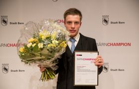 Alexander Gutbrod (Schwimmklub Bern), BÄRNCHAMPION Kategorie «Behindertensport»