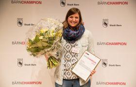 Aline Takacs (Schwimmklub Bern), BÄRNCHAMPION «Offene Kategorie Einzelsportlerin»