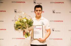 Kenneth Krebs (Wushu Zentrum Bern), Kategorie «Elite Einzelsportler»